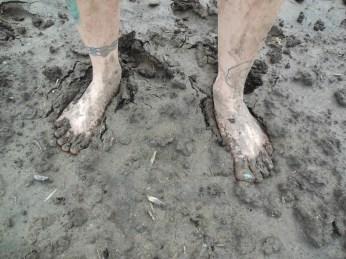Kaci's feet
